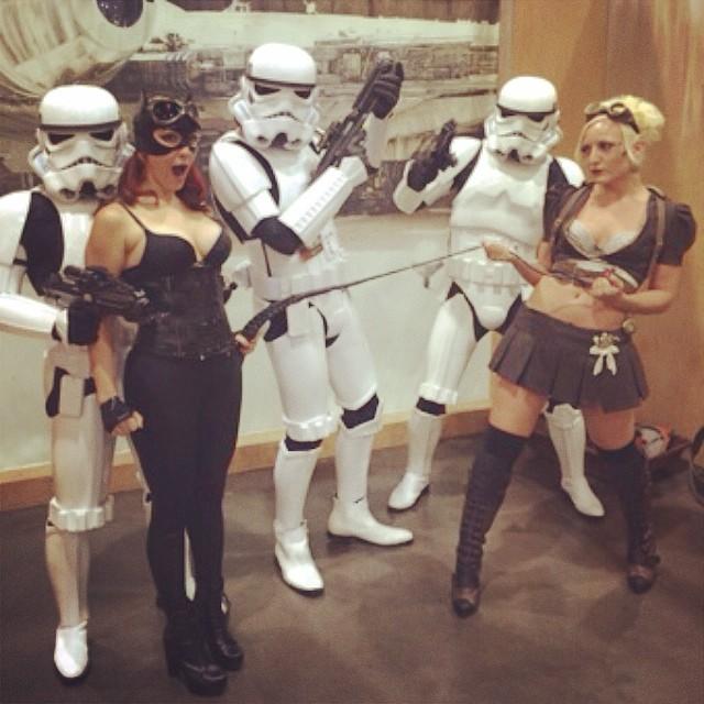 Catwomon Phoenix Comic Con 2014