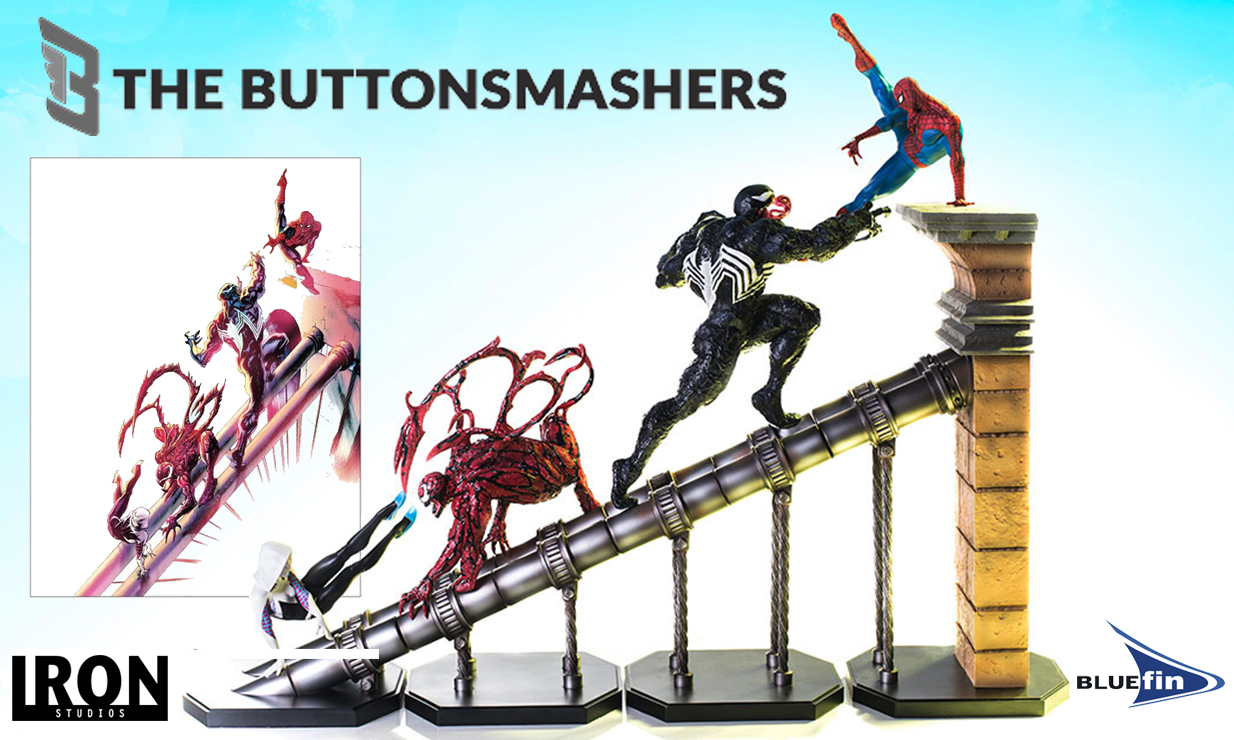 Bluefin To Release An Epic Spider-Man Battle Diorama Series Statue Set