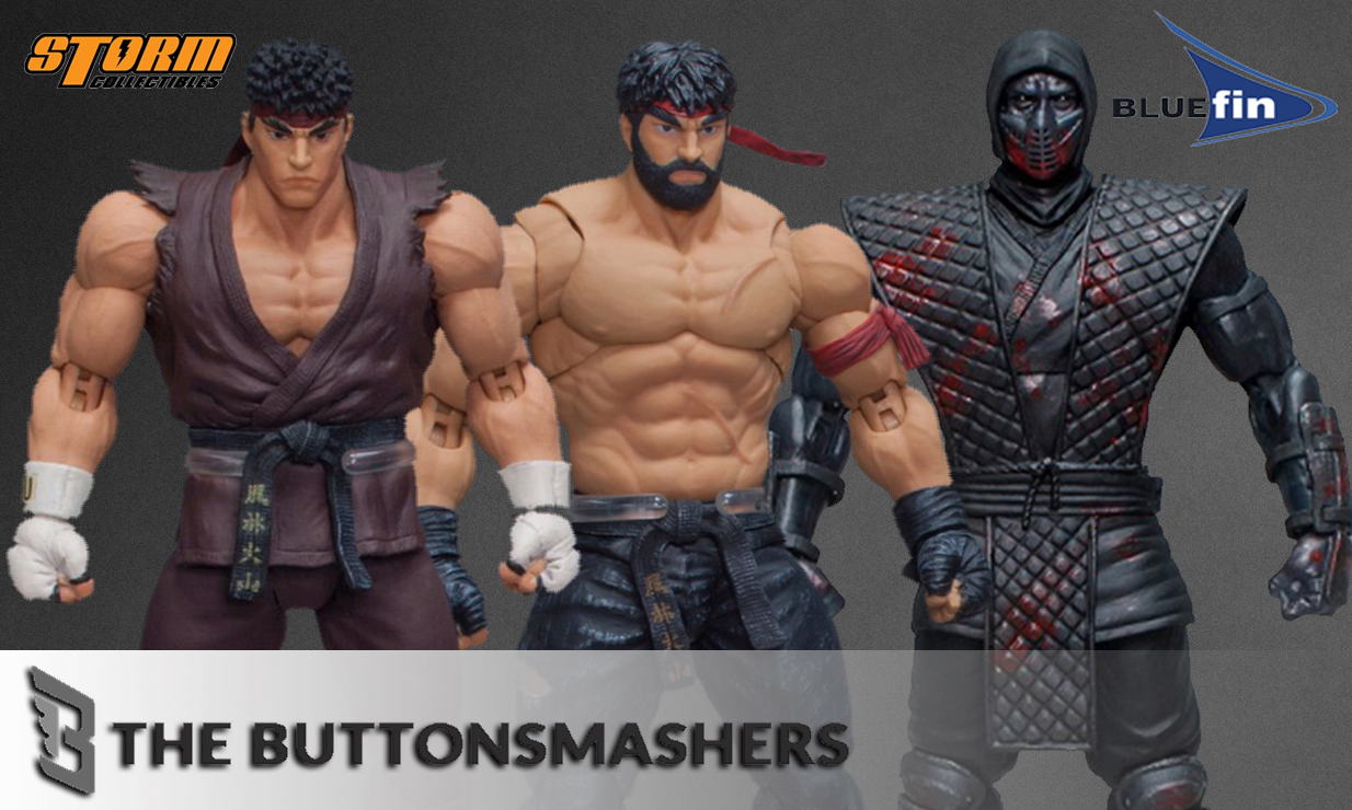 These Fighting Action Figures Don't Hold Back