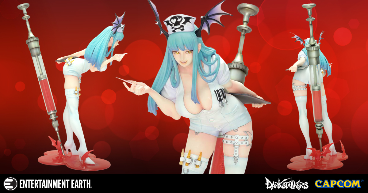 Eternity Can Be Lonely. Please Keep This Vampire Morrigan Nurse Statue Company