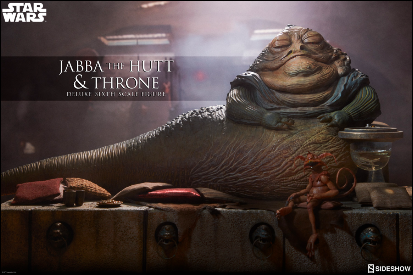 This Jabba the Hutt Deluxe Statue is Disgustingly Awesome